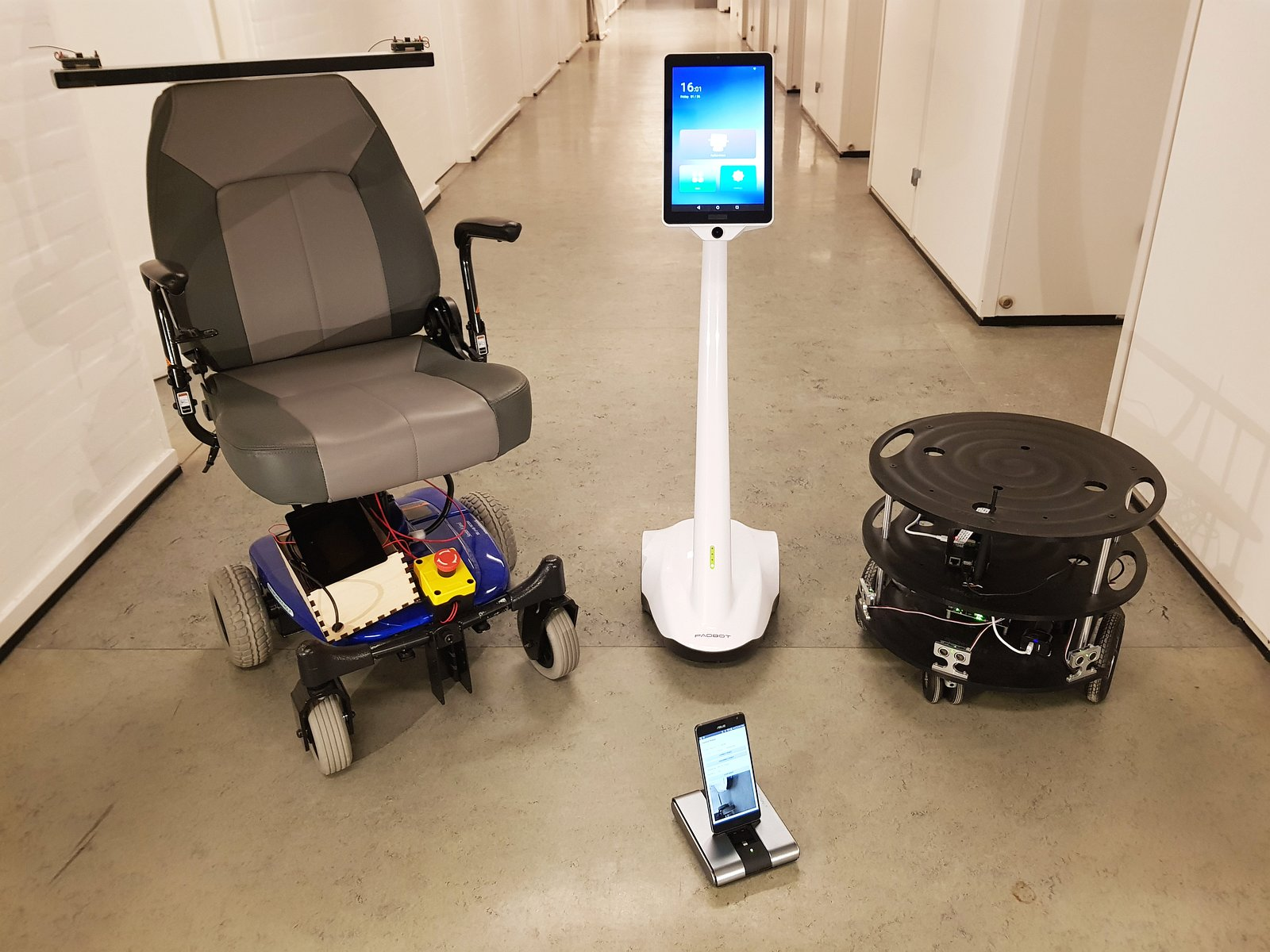Image of 4 robots
